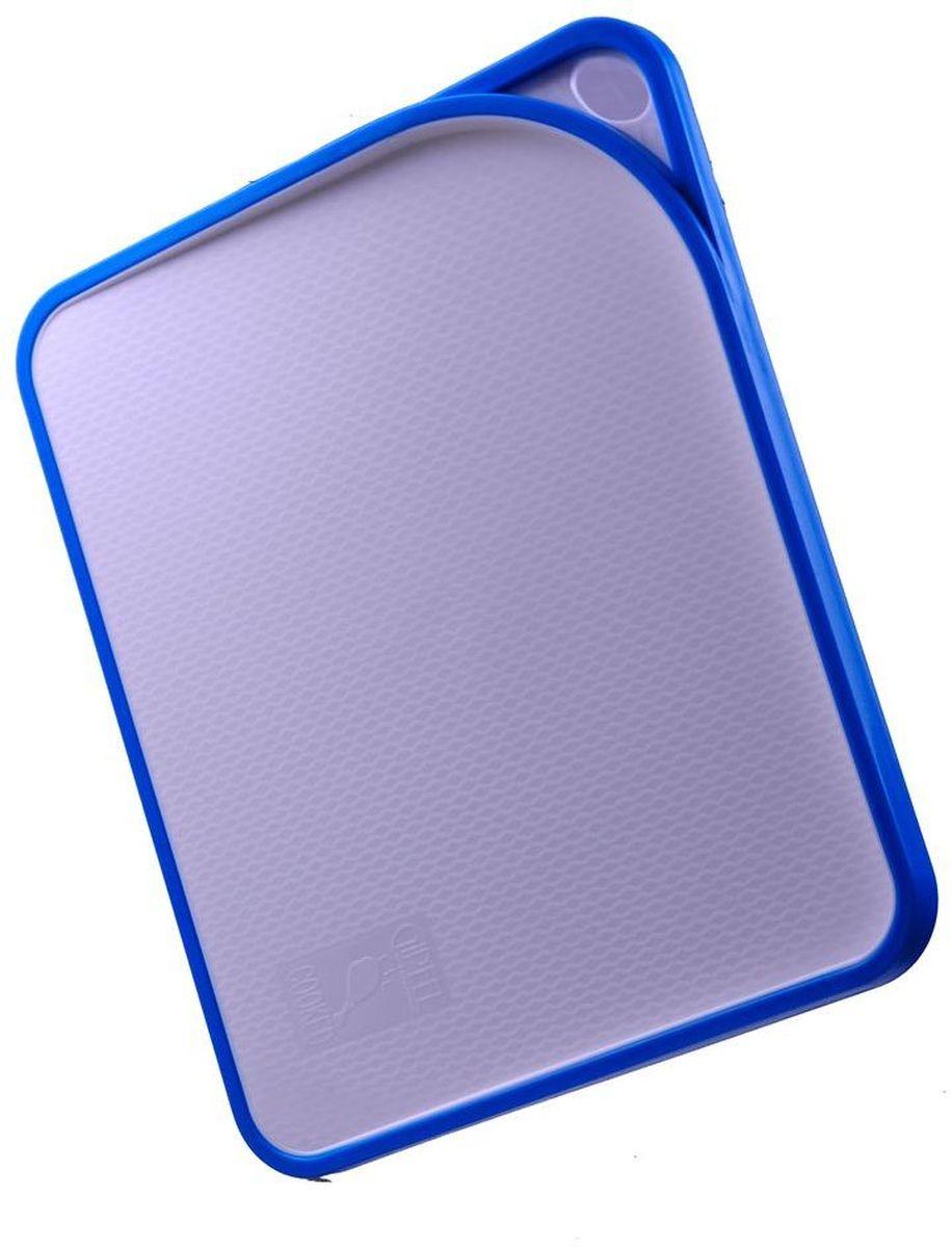 Доска разделочная Gipfel Acrux, цвет: голубой, 33,8 х 27,7 х 1,6 см3121Посуда Gipfel изготовлена только из качественных, экологически чистых материалов. Также уделяется особое внимание дизайну продукции, способному удовлетворять вкусы даже самых взыскательных покупателей. Сталь 8/10, из которой изготавливается посуда и аксессуары Gipfel, является уникальной. Она отличается высокими эксплуатационными характеристиками и крайне устойчива к физическим воздействиям. Сложно найти более подходящий для создания качественной кухонной посуды материал. Отличительной чертой металлической посуды, выполненной из подобной стали, является характерный сероватый оттенок поверхности и особый блеск. Это позволяет приготовить более здоровую пищу.