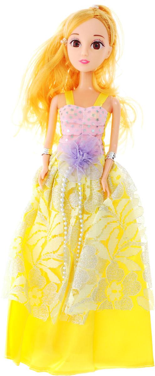 Veld-Co Кукла Benigh Girl Принцесса цвет платья желтый