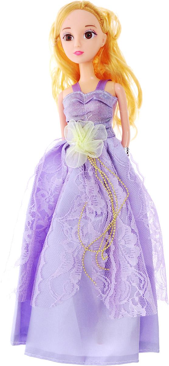 Veld-Co Кукла Benigh Girl Принцесса цвет платья сиреневый