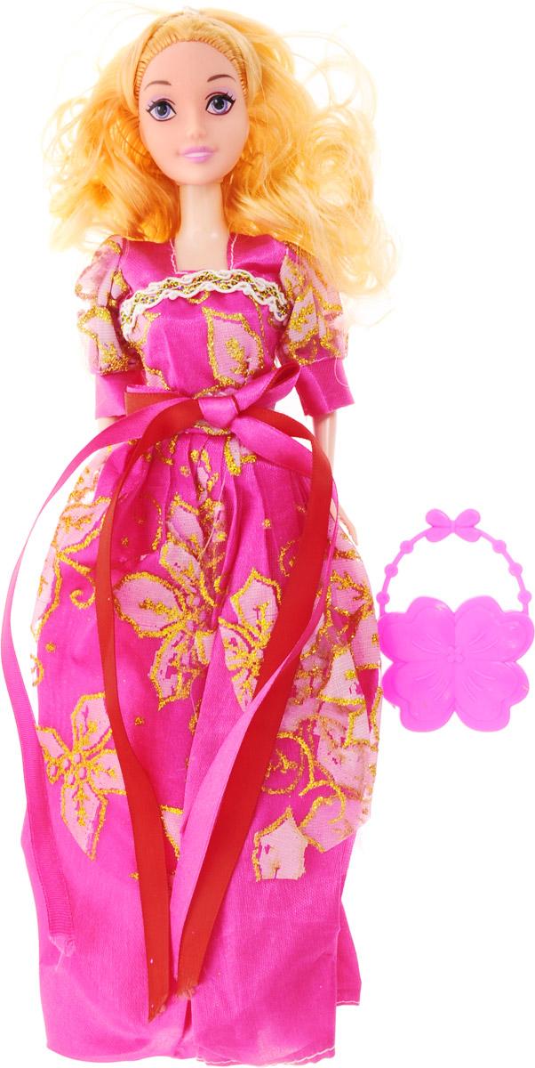 Veld-Co Кукла Benigh Girl цвет платья фуксия