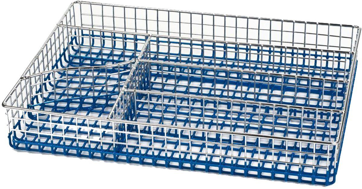 Лоток для столовых приборов Stahlberg, цвет: голубой, 30 х 22 х 5 см5137-SПосуда STAHLBERG изготовлена только из качественных, экологически чистых материалов. Также уделяется особое внимание дизайну продукции, способному удовлетворять вкусы даже самых взыскательных покупателей. Сталь 8/10, из которой изготавливается посуда и аксессуары STAHLBERG, является уникальной. Она отличается высокими эксплуатационными характеристиками и крайне устойчива к физическим воздействиям. Сложно найти более подходящий для создания качественной кухонной посуды материал. Отличительной чертой металлической посуды, выполненной из подобной стали, является характерный сероватый оттенок поверхности и особый блеск. Это позволяет приготовить более здоровую пищу.