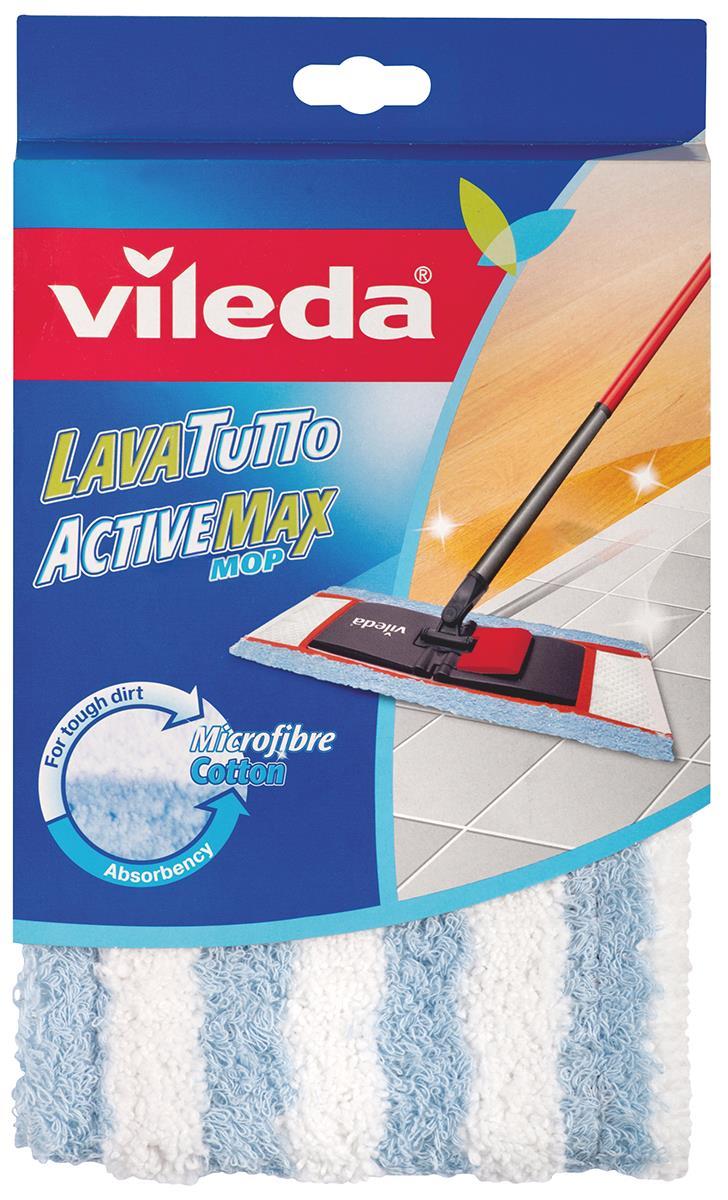 Насадка сменная Vileda Active Max для швабры72228Сменная насадка Vileda Active Max, изготовленная из микрофибры и хлопка, предназначена для мытья всех типов напольных покрытий, в том числе паркета и ламината. Она станет незаменимым атрибутом любой уборки. Насадка позволяет уменьшить количество чистящих средств, эффективно моет, не оставляя разводов. Насадка крепится к швабре при помощи специальных кармашков. Насадку можно стирать в стиральной машине. Характеристики: Материал: микрофибра, хлопок. Размер насадки: 40 см х 15 см. Размер пластикового основания насадки: 34 см х 17 см х 2 см. Производитель: Германия. Изготовитель: Италия. Артикул: 72228. Vileda - торговая марка немецкого концерна Freudenberg, выпускающего первоклассный уборочный инвентарь, как для уборки дома, так и для профессиональной уборки. Концерн Freudenberg, частью которого является Vileda, существует уже 161 год, торговая марка Vileda - 62 года. В настоящее...