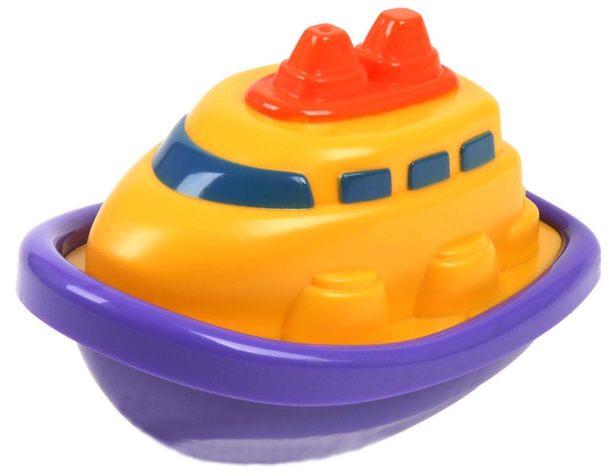 Keenway Игрушка для ванной Лодочка цвет желтый фиолетовый