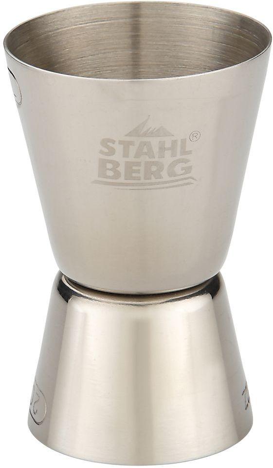 Джиггер Stahlberg, 4,2 х 4,2 х 7 см. 9336-S9336-SПосуда STAHLBERG изготовлена только из качественных, экологически чистых материалов. Также уделяется особое внимание дизайну продукции, способному удовлетворять вкусы даже самых взыскательных покупателей. Сталь 8/10, из которой изготавливается посуда и аксессуары STAHLBERG, является уникальной. Она отличается высокими эксплуатационными характеристиками и крайне устойчива к физическим воздействиям. Сложно найти более подходящий для создания качественной кухонной посуды материал. Отличительной чертой металлической посуды, выполненной из подобной стали, является характерный сероватый оттенок поверхности и особый блеск. Это позволяет приготовить более здоровую пищу.