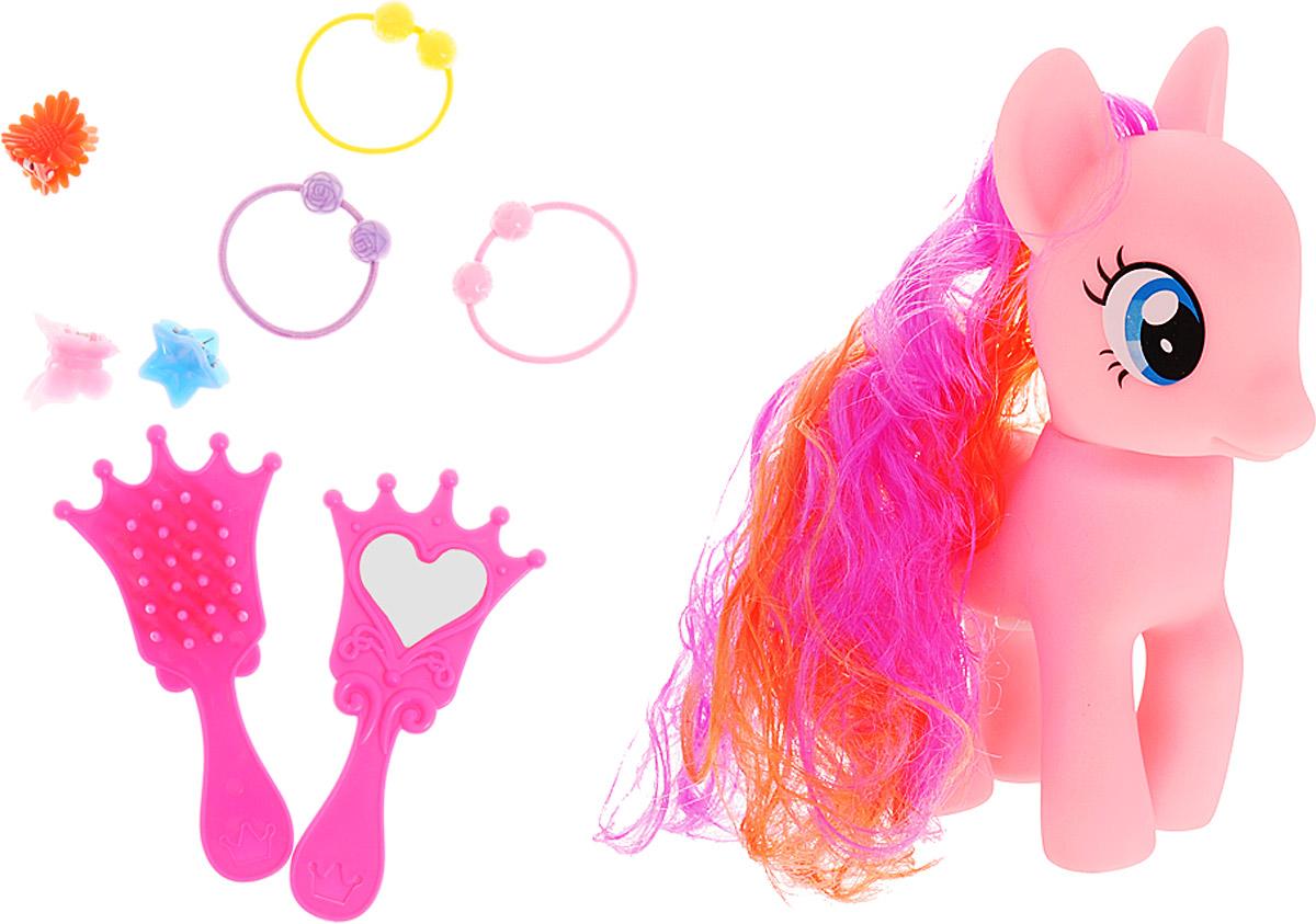 Карапуз Игровой набор Пони цвет розовый