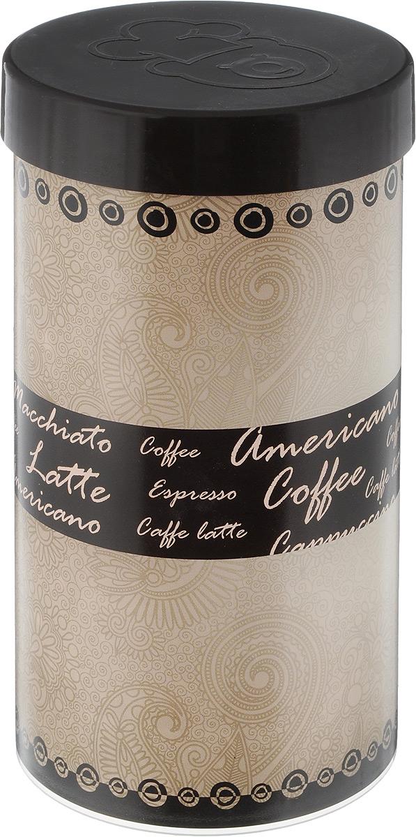 """Емкость для хранения кофе """"Oursson"""", цвет: бежевый, темно-коричневый, 400 г. JA55081/BR"""