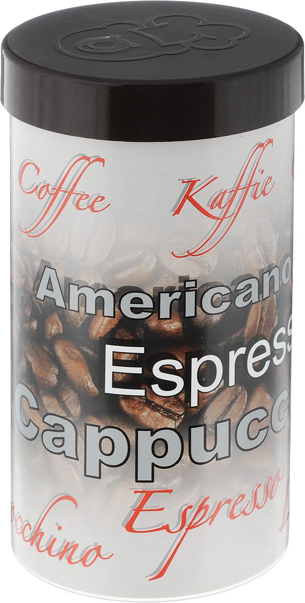 """Емкость для хранения кофе """"Oursson"""", цвет: бежевый, темно-коричневый, 400 г. JA55054/BR"""