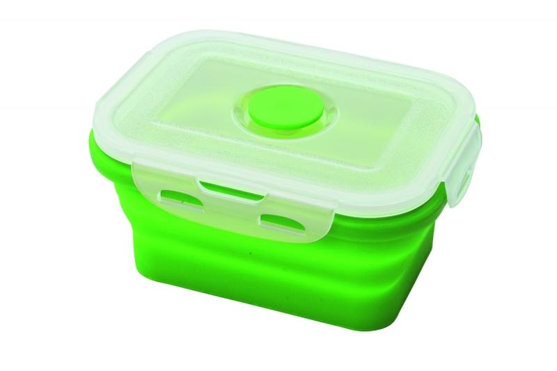 Складной контейнер для еды Axon, цвет: салатовыйVC-201