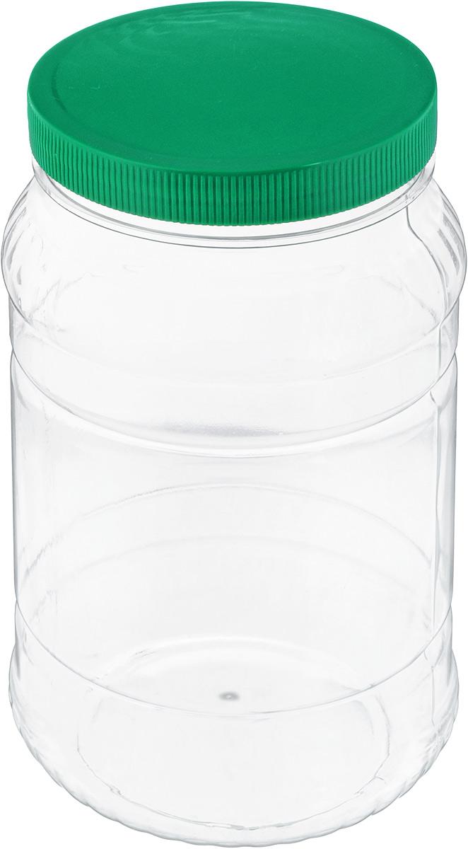 Банка для сыпучих продуктов Альтернатива, цвет: зеленый, прозрачный, 2 лМ472_зеленыйБанка для сыпучих продуктов Альтернатива, изготовленная из высококачественного пластика, станет незаменимым помощником на любой кухне. В ней будет удобно хранить сыпучие продукты, такие, как чай, кофе, соль, сахар, крупы, макароны и многое другое. Емкость плотно закрывается крышкой. Яркий дизайн банки позволит украсить любую кухню, внеся разнообразие как в строгий классический стиль, так и в современный кухонный интерьер. Диаметр банки (по верхнему краю): 10,5 см. Высота банки (с учетом крышки): 20,5 см.