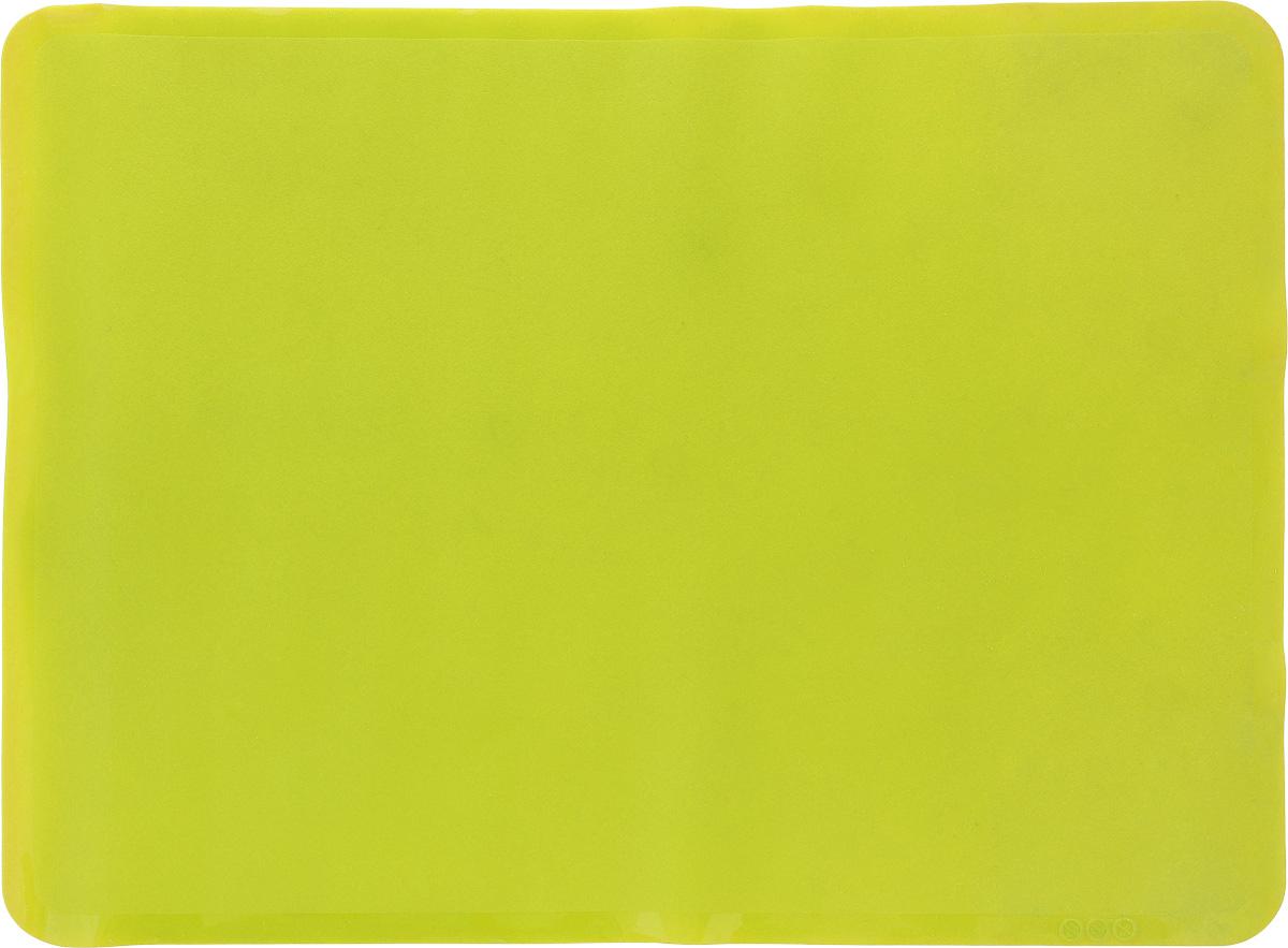 Коврик для выпечки Oursson, цвет: зеленое яблоко, 50 х 35 смMC5001S/GAАнтипригарный коврик для выпечки Oursson изготовлен из высококачественного силикона, способного выдерживать температуру от -20 до +220°С. Коврик позволяет готовить блюда в духовом шкафу без использования жира и масла. Исключает пригорание, способствует хорошему пропеканию изделий. Выпечка не прилипает к противню. Коврик легко очищается и моется. Коврик можно использовать в микроволновой печи, в духовом шкафу. Также подходит для хранения в холодильнике. Изделие можно мыть в посудомоечной машине. Размер коврика: 50 х 35 см.