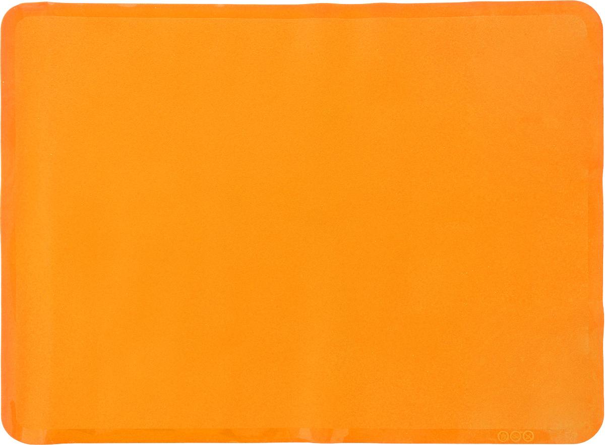 Коврик для выпечки Oursson, цвет: оранжевый, 50 х 35 смMC5001S/ORАнтипригарный коврик для выпечки Oursson изготовлен из высококачественного силикона, способного выдерживать температуру от -20 до +220°С. Коврик позволяет готовить блюда в духовом шкафу без использования жира и масла. Исключает пригорание, способствует хорошему пропеканию изделий. Выпечка не прилипает к противню. Коврик легко очищается и моется. Коврик можно использовать в микроволновой печи, в духовом шкафу. Также подходит для хранения в холодильнике. Изделие можно мыть в посудомоечной машине. Размер коврика: 50 х 35 см.
