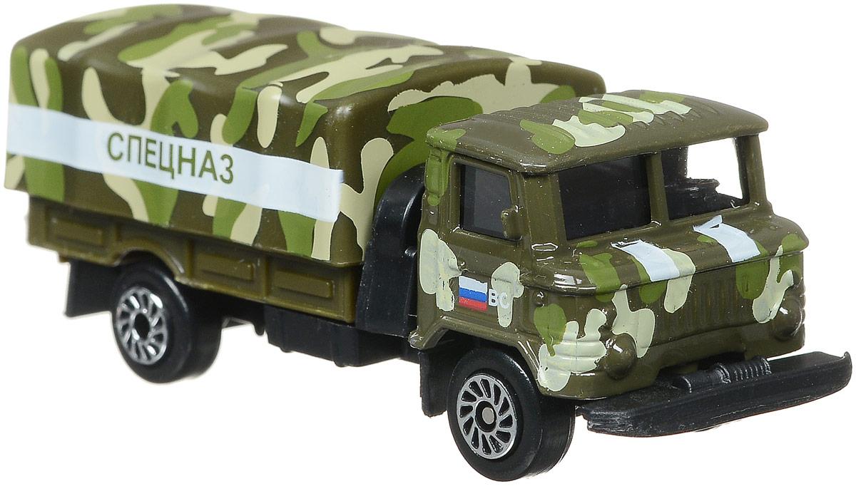 ТехноПарк Машинка ГАЗ 66 Спецназ
