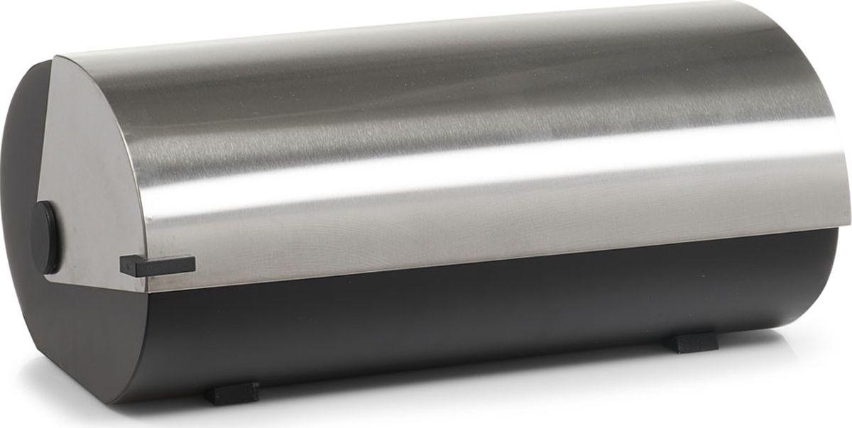 Хлебница Zeller, цвет: серый, черный, 420 х 270 х 180 мм27288