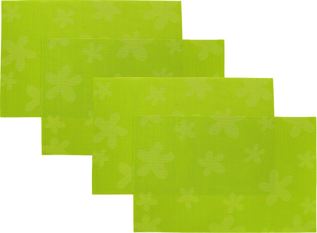 Набор сервировочных салфеток Oursson Цветы, 30 х 45 см, 4 штHS89597/GAНабор Oursson Цветы состоит из 4 салфеток, изготовленных на 70% из ПВХ и на 30% из полиэстера, они не впитывают влагу и легко моются. Набор салфеток предназначен для сервировки стола и украшения интерьера кухни, столовой или гостиной. Для ухода за салфетками можно использовать любые моющие средства. Необычный дизайн, практичность и высокая износостойкость делают салфетки удобным и полезным аксессуаром для дома. Салфетка станет прекрасным завершающим элементом в сервировке стола. С ней любой ужин будет как праздничный. Размер: 30 х 45 см.