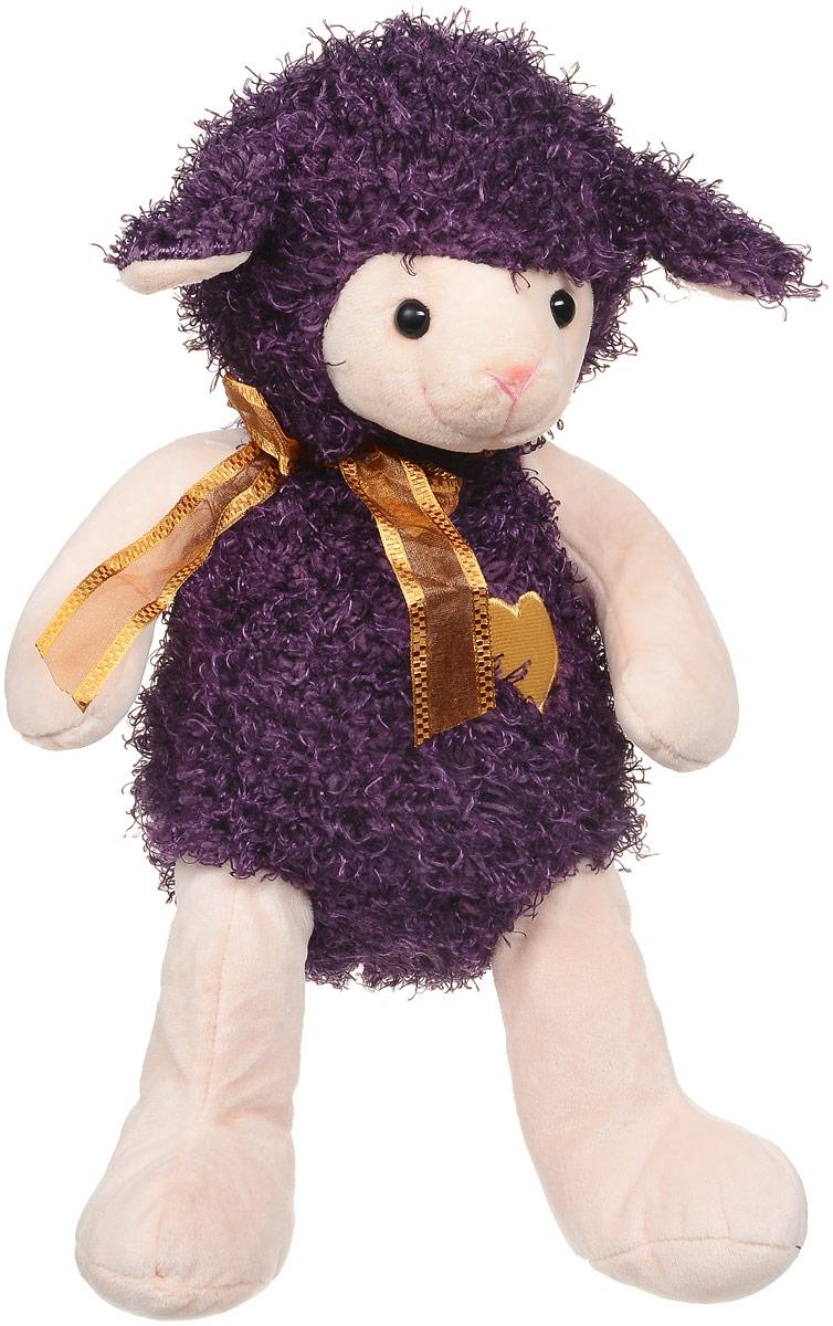 Magic Bear Toys Мягкая игрушка Овечка цвет фиолетовый 28 см SP47058