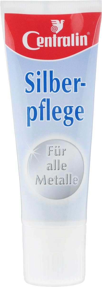 """Средство Centralin """"Silberpflege"""", по уходу за изделиями из серебра и других металлов, 75 мл 500002*"""