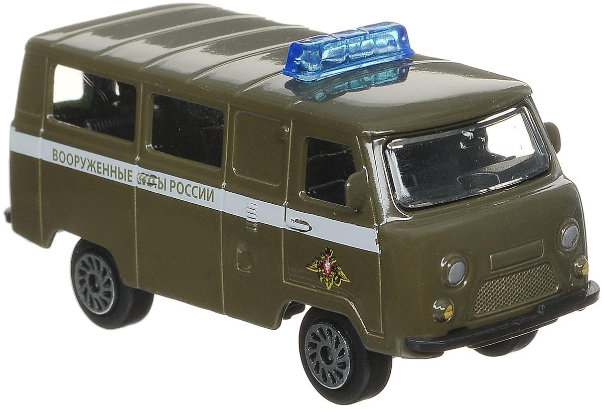 ТехноПарк Автомобиль УАЗ 39625 Вооруженные силы России цвет хаки