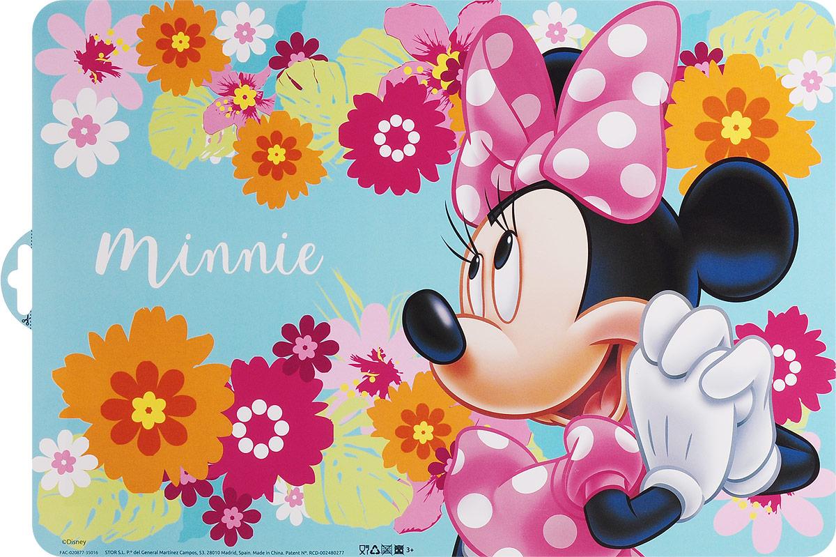 Disney Салфетка под горячее Минни19Салфетка под горячее Disney Минни не только украсит стол, но и защитит его от различных повреждений. Она выполнена из плотного материала и красочно оформлена цветами с изображением героя популярного мультфильма Микки Маус - Минни Маус, подружка Микки Мауса. Салфетку можно использовать как под посуду, так и просто для украшения интерьера. Не использовать в СВЧ-печах и посудомоечных машинах.