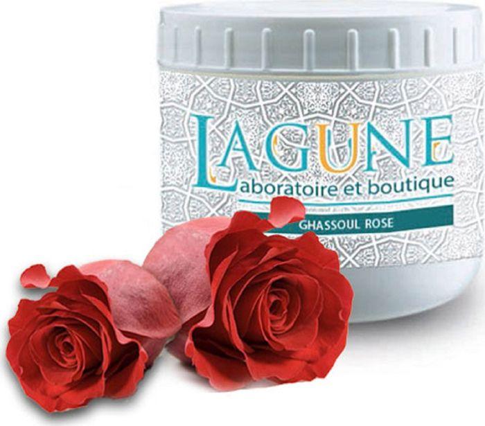 Lagune Маска на основе марокканской глины Гассуль Роза, для глубокого очищения с разглаживающим эффектом 500 мл4627117800024Вулканическая марокканская глина (гассуль) с глубокой древности применяется для косметических целей. Она очищает кожу, выводит токсины и загрязнения, улучшает структуру кожи, подтягивает ее, стимулирует процессы регенерации, уменьшает воспаления при высыпаниях на коже. Может применяться для тела и волос .