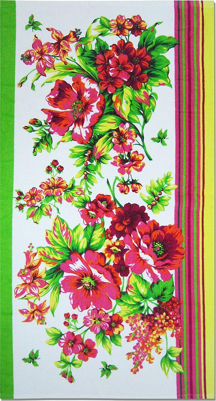 Полотенце махровое НВ Адриана, цвет: розовый, 70 х 140 см. м1007_0270727