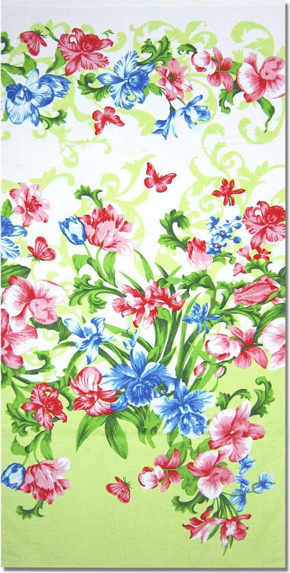 Полотенце махровое НВ Елена, цвет: зеленый, 33 х 70 см. м1030_0371351