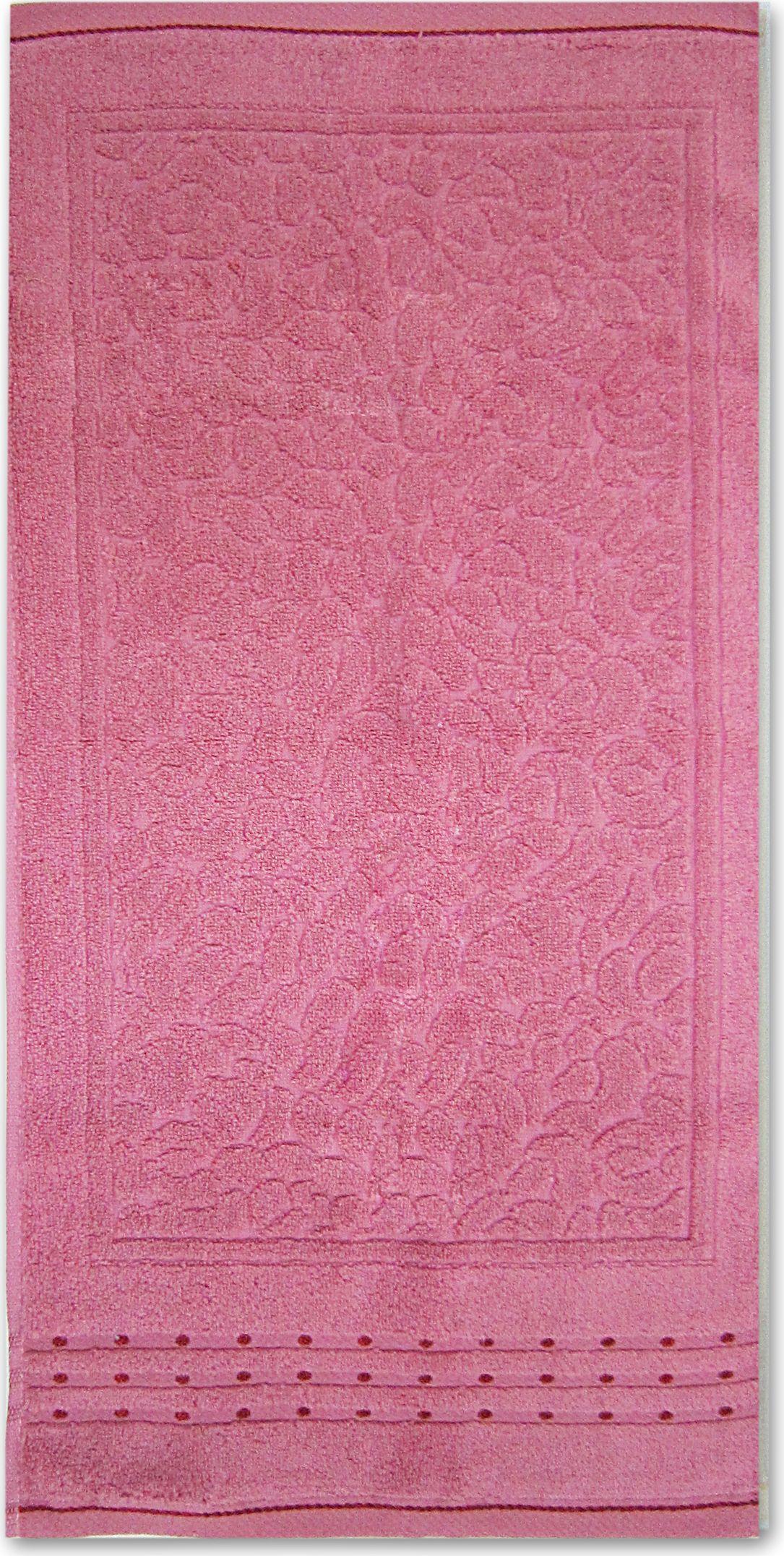 Полотенце махровое НВ Морион, цвет: персиковый, 50 х 90 см. м0742_1285549