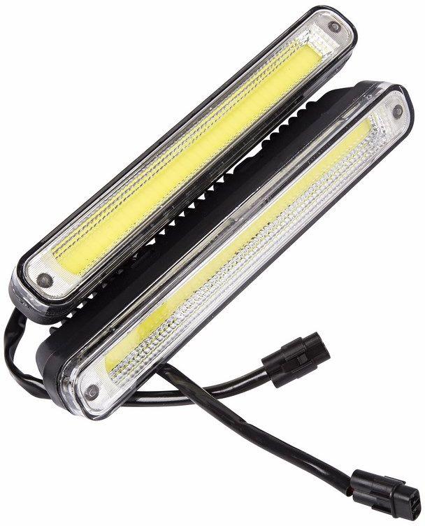 Дневные ходовые огни Lamper, 20 Вт80-1132Рабочее напряжение: 8-16 В Потребляемая мощность: 20 Вт Продолжительность работы: до 50 000 часов Температура работы: от -40°C до +85°C Пластиковый корпус. Размеры: 200х50х40.