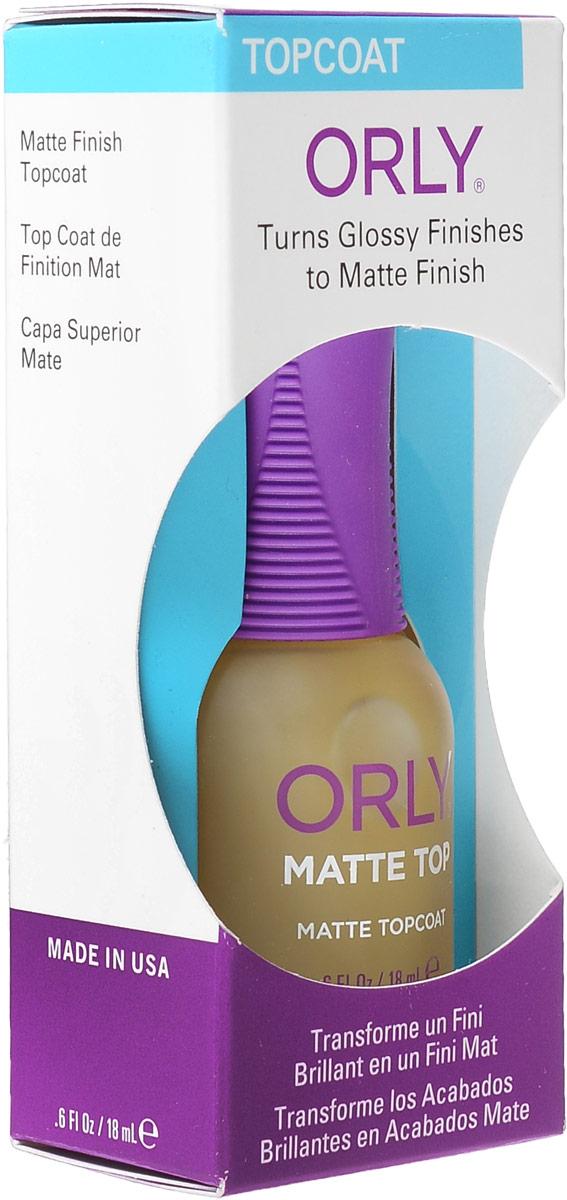 Orly Верхнее покрытие Matte Top с матирующим эффектом, 18 мл24250Покрытие Orly Matte Top придает маникюру матовый сатиновый эффект. Уменьшает скалывание лака, идеально подходит для создания дизайна ногтей, в котором сочетаются матовые и блестящие участки. Способ применения : для достижения матового эффекта, необходимо нанести 1-2 слоя препарата на подсохшее лаковое покрытие. Можно использовать с базовым покрытием Bonder. Это обеспечит максимально прочное сцепление лакового покрытия с ногтем и увеличит продолжительность жизни маникюра. Характеристики: Объем: 18 мл. Артикул: 24250. Производитель: США. Товар сертифицирован. Состав: этилацетат, бутилацетат, нитроцеллюлоза, сополимер, изопропил, гидратированный кварц, триметил-пентанил диизобутират, трифенил фосфат, N-бутиловый спирт, стеаралкониум гекторит, стеаралкониум бентонит, бензофенон-1, диметикон, пигменты.