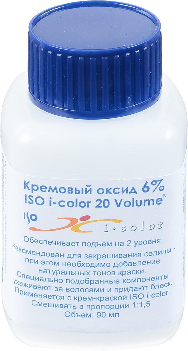 ISO Оксид 6% I.Color 20 Volume -, 90 мл98559мОбеспечивает подъем на 2 уровня. Рекомендован для закрашивания седины. При этом необходимо добавление натуральных тонов краски ISO i.Color. Специально подобранные компоненты кремового оксида ухаживают за волосами и придают блеск.