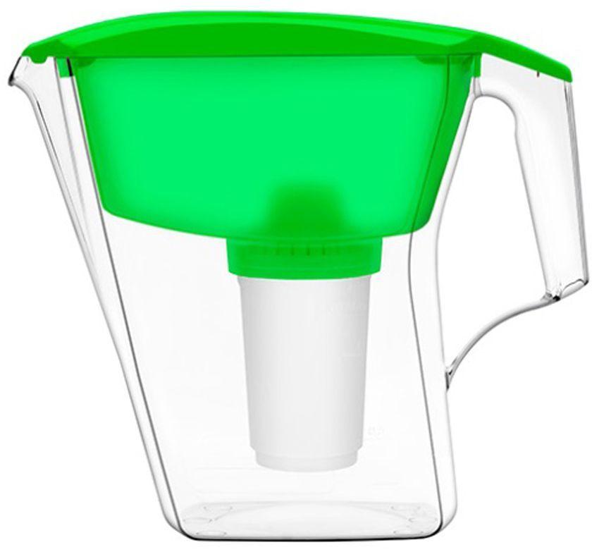 Фильтр-кувшин для воды Аквафор АРТ, цвет: зеленый, 2,8 лАРТ (зел.)Аквафор Арт – фильтр-кувшин с оптимальным соотношением объёмов воронки и кувшина Надёжно и необратимо удаляет вредные примеси из питьевой воды. Помещается на стенку холодильника, так что вода дольше остается свежей. Как и любой фильтр-кувшин, Аквафор Арт не требует подключения к водопроводу и может использоваться в любом, удобном для Вас месте. Все части фильтра изготовлены из высококачественного пищевого пластика немецкого производства. Аквафор Арт комплектуется универсальным сменным модулем В5 (В100-5), но к нему подходят и другие сменные модули Аквафор: В6 (В100-6) – сменный модуль для жесткой воды; В7 (В100-7) – сменный модуль, сохраняющий исходный минеральный состав воды; В8 (В100-8) – cменный модуль для чрезмерно хлорированной воды. В мае 2015 года Stiftung Warentest – институт тестирования потребительских товаров в Германии, учрежденный Министерством экономики Германии, – сравнил качество водоочистителей, реализуемых на рынке Германии.По результатам...