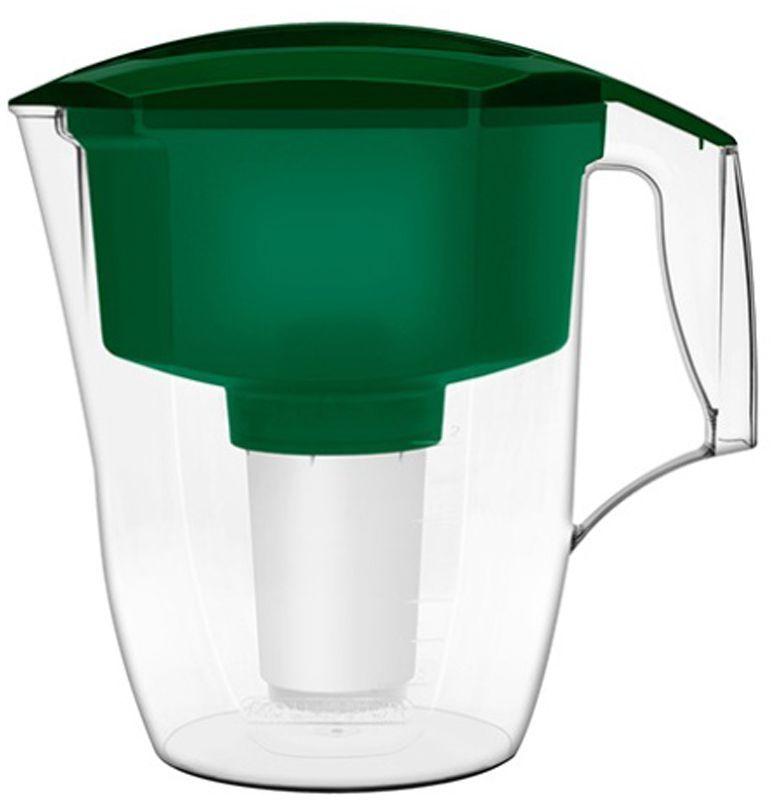 Фильтр-кувшин для воды Аквафор Кантри, цвет: зеленый, 3,9 лКАНТРИ (зел.)Аквафор Кантри - фильтр-кувшин, разработанный специально для загородного дома и дачи Фильтрующий модуль эффективно и необратимо задерживает пестициды, тяжелые металлы, нефтепродукты и многие другие опасные примеси. Вместительные кувшин и воронка позволяют очистить больше воды за один раз. Как и любой фильтр-кувшин, Аквафор Кантри не требует подключения к водопроводу и может использоваться в любом, удобном для Вас месте. Все части фильтра изготовлены из высококачественного пищевого пластика немецкого производства. Аквафор Арт комплектуется универсальным сменным модулем В5 (В100-5), но к нему подходят и другие сменные модули Аквафор: – В6 (В100-6) – сменный модуль для жесткой воды; – В7 (В100-7) – сменный модуль, сохраняющий исходный минеральный состав воды; – В8 (В100-8) – cменный модуль для чрезмерно хлорированной воды. В мае 2015 года Stiftung Warentest – институт тестирования потребительских товаров в Германии, учрежденный Министерством экономики...