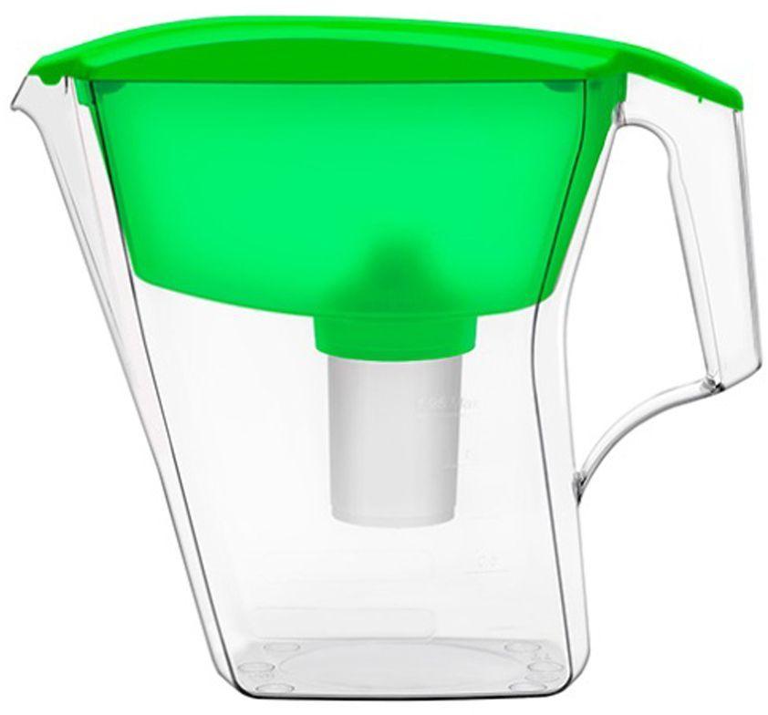 Фильтр-кувшин для воды Аквафор Лайн, цвет: зеленый, 2,8 лЛАЙН (зел.)Аквафор Лайн – фильтр-кувшин нового поколения Благодаря компактным размерам, идеально подойдет для малогабаритной кухни. Фильтрующий модуль эффективно и необратимо удаляет органические соединения, железо, тяжелые металлы. Как и любой фильтр-кувшин, Аквафор Лайн не требует подключения к водопроводу и может использоваться в любом, удобном для вас месте. Все части фильтра изготовлены из высококачественного пищевого пластика. Аквафор Лайн комплектуется сменным модулем В15 (В100-15), но к нему подходят и другие сменные модули Аквафор: – В16 (В100-16) – сменный модуль для жесткой воды. В мае 2015 года Stiftung Warentest – институт тестирования потребительских товаров в Германии, учрежденный Министерством экономики Германии, – сравнил качество водоочистителей, реализуемых на рынке Германии.По результатам тестирования Аквафор занял 1 место. Полный отчет о результатах испытаний и сравнительного анализа представлен на официальном сайте института test.de