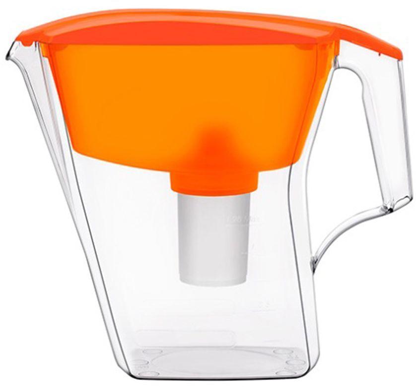 Фильтр-кувшин для воды Аквафор Лайн, цвет: оранжевый, 2,8 лЛАЙН (оран.)Аквафор Лайн – фильтр-кувшин нового поколения Благодаря компактным размерам, идеально подойдет для малогабаритной кухни. Фильтрующий модуль эффективно и необратимо удаляет органические соединения, железо, тяжелые металлы. Как и любой фильтр-кувшин, Аквафор Лайн не требует подключения к водопроводу и может использоваться в любом, удобном для вас месте. Все части фильтра изготовлены из высококачественного пищевого пластика. Аквафор Лайн комплектуется сменным модулем В15 (В100-15), но к нему подходят и другие сменные модули Аквафор: – В16 (В100-16) – сменный модуль для жесткой воды. В мае 2015 года Stiftung Warentest – институт тестирования потребительских товаров в Германии, учрежденный Министерством экономики Германии, – сравнил качество водоочистителей, реализуемых на рынке Германии.По результатам тестирования Аквафор занял 1 место. Полный отчет о результатах испытаний и сравнительного анализа представлен на официальном сайте института test.de