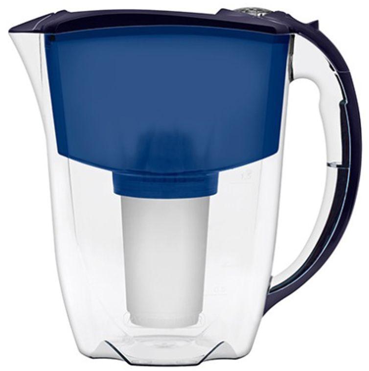 Фильтр-кувшин для воды Аквафор Престиж, цвет: синий, 2,8 лПРЕСТИЖ (син.)Аквафор Престиж – стильная компактная модель фильтра-кувшина Аквафор с дополнительными возможностями Крышка-слайдер упрощает набор воды и защищает воронку фильтра от пыли. Фильтр также оснащен механическим счетчиком ресурса, который подскажет Вам верный момент сменить картридж. Как и любой фильтр-кувшин, Аквафор Престиж не требует подключения к водопроводу и может использоваться в любом, удобном для Вас месте. Все части фильтра изготовлены из высококачественного пищевого пластика немецкого производства. Аквафор Престиж комплектуется универсальным сменным модулем В5 (В100-5), но к нему подходят и другие сменные модули Аквафор: – В6 (В100-6) – сменный модуль для жесткой воды; – В7 (В100-7) – сменный модуль, сохраняющий исходный минеральный состав воды; – В8 (В100-8) – cменный модуль для чрезмерно хлорированной воды. В мае 2015 года Stiftung Warentest – институт тестирования потребительских товаров в Германии, учрежденный Министерством экономики Германии, –...