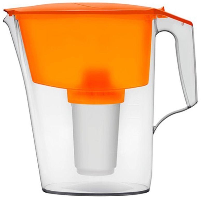 Фильтр-кувшин для воды Аквафор Ультра, цвет: оранжевый, 2,5 лУльтра (зел.)Аквафор Ультра – компактный и удобный фильтр-кувшин с флип-флоп крышкой, которая предотвращает запыление воронки Этот кувшин идеально подойдет для малогабаритной кухни, т.к. помещается на дверцу холодильника. Ваша питьевая вода дольше остается свежей. Как и любой фильтр-кувшин, Аквафор Ультра не требует подключения к водопроводу и может использоваться в любом, удобном для Вас месте. Все части фильтра изготовлены из высококачественного пищевого пластика немецкого производства. Аквафор Ультра комплектуется универсальным сменным модулем В5 (В100-5), но к нему подходят и другие сменные модули Аквафор: – В6 (В100-6) – сменный модуль для жесткой воды; – В7 (В100-7) – сменный модуль, сохраняющий исходный минеральный состав воды; – В8 (В100-8) – cменный модуль для чрезмерно хлорированной воды. В мае 2015 года Stiftung Warentest – институт тестирования потребительских товаров в Германии, учрежденный Министерством экономики Германии, – сравнил качество...