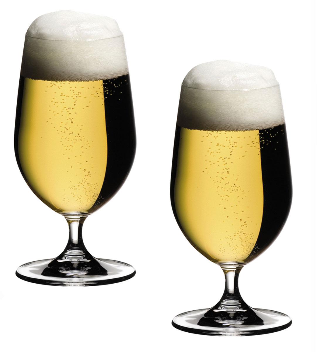 Набор бокалов Riedel Beer, 500 мл, 2 шт6408/11Набор Riedel Beer, состоящий из двух бокалов, выполнен из высококачественного стекла. Бокалы предназначены для подачи пива. Набор сочетает в себе элегантный дизайн и функциональность. Благодаря такому набору пить напитки будет еще вкуснее. Набор Riedel Beer прекрасно оформит праздничный стол и создаст приятную атмосферу. Такие бокалы также станут хорошим подарком к любому случаю. Можно мыть в посудомоечной машине. Диаметр (по верхнему краю): 6,5 см. Высота: 17 см.