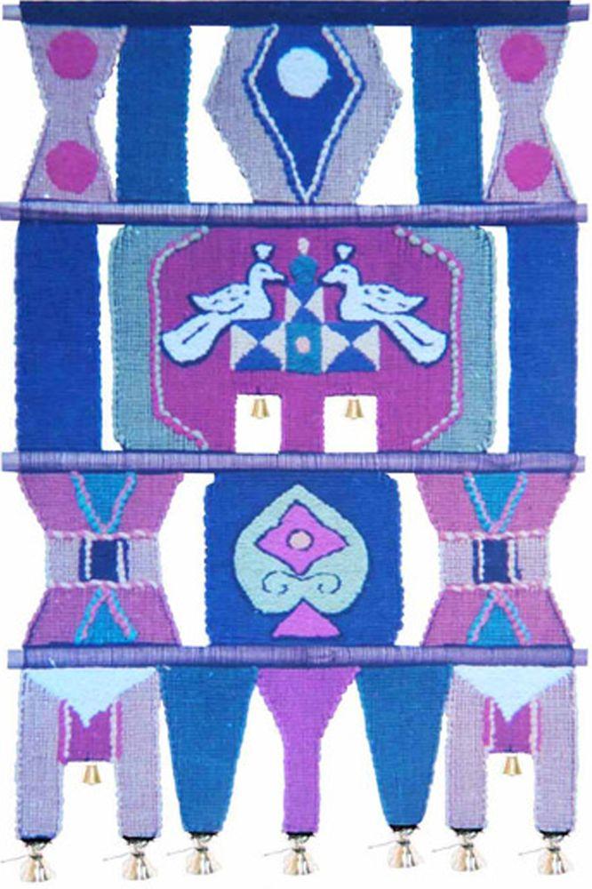 Коврик декоративный India Cotton, 45 х 80 см. 206206Коврик декоративный ручной работы. Произведен в деревнях Индии, с вековыми традициями в изготовлении хлопковых изделий. Служит идеальным украшением Вашего интерьера, отличный подарок по любому случаю. Этнический оберег, колокольчиками отгоняющий зло и привлекающий блага. Изделия ручной работы могут немного отличаться от товара, представленного на фото, например, цветовыми нюансами, отделкой. Внимание: коврик не подлежит стирке!