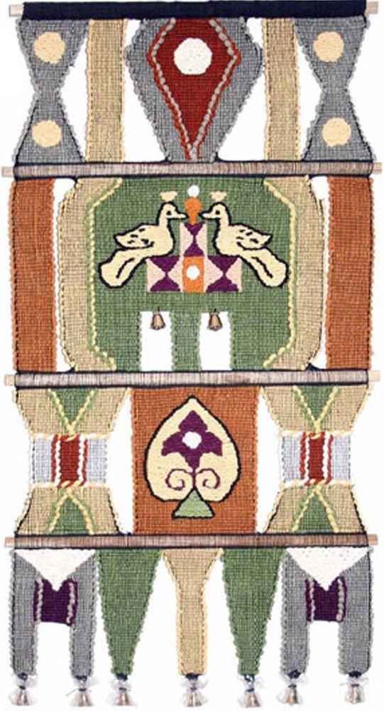 Коврик декоративный India Cotton, 45 х 80 см. 206L206LКоврик декоративный ручной работы. Произведен в деревнях Индии, с вековыми традициями в изготовлении хлопковых изделий. Служит идеальным украшением Вашего интерьера, отличный подарок по любому случаю. Этнический оберег, колокольчиками отгоняющий зло и привлекающий блага. Изделия ручной работы могут немного отличаться от товара, представленного на фото, например, цветовыми нюансами, отделкой. Внимание: коврик не подлежит стирке!
