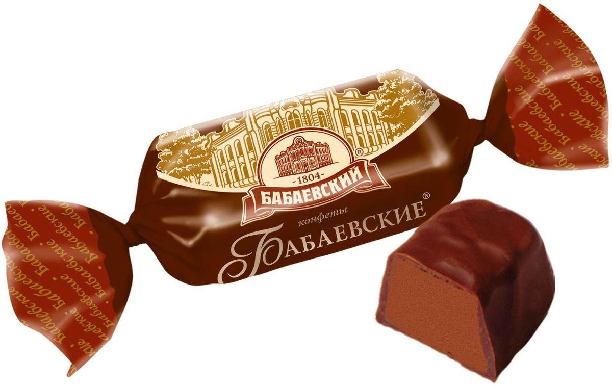 Бабаевский Бабаевские конфеты с шоколадным вкусом в шоколадной глазури, 250 г ББ09868