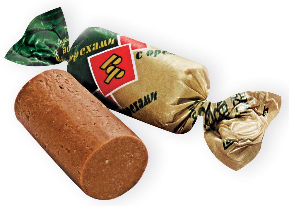 Рот-Фронт Батончики Рот Фронт конфеты из пралине и хрустящих дробленных вафель с орехами, 250 гРФ05481Знаменитые московские конфеты, напоминают Вкус Детства!