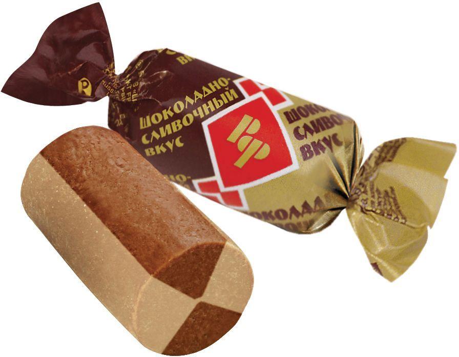 Рот-Фронт Батончики Рот Фронт конфеты из пралине и хрустящих дробленных вафель с шоколадно-сливочным вкусом , 250 гРФ07604Знаменитые московские конфеты, напоминают Вкус Детства!