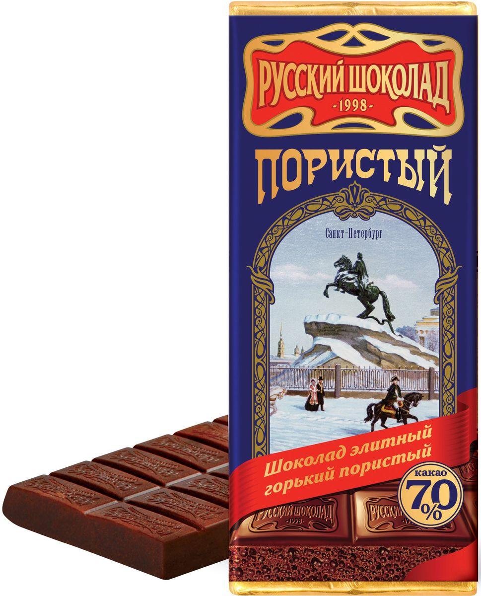 Русский шоколад Элитный горький пористый шоколад, 90 г РШ14876