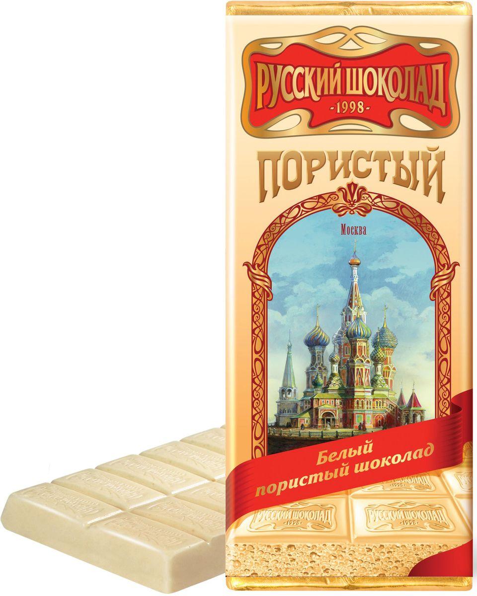 Русский шоколад Белый пористый шоколад, 90 г