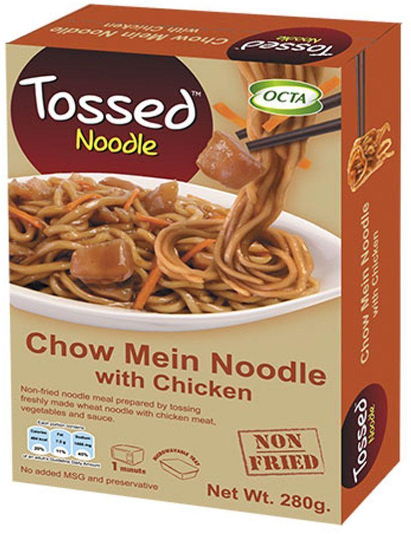 Kitchen88 Лапша чоу-мейн с курицей, 340 г