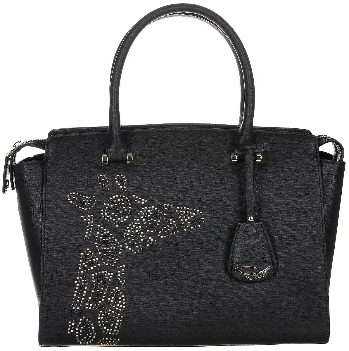 Сумка жен Curanni Сафари, цвет: черный. 20322032Элегантная сумка итальянского бренда Curanni, сделана из натуральной кожи. Такая модель превосходно дополнит любой деловой образ, и также может стать превосходным дополнением образа на прогулке или в клубе. Благодаря хорошей вместительности будет очень удобна для повседневного использования, что по достоинству оценит любая девушка. Внутри: Два кармана, один из которых на потайной молнии, подойдет для документов или мелочей, другие два кармана без молнии также подойдут для мелочей или мобильного телефона. Внутри сумки два отдела разделенные карманом на молнии. Снаружи: Один карман на тыльной стороне сумки на молнии. Дополнена длинным ремнем.
