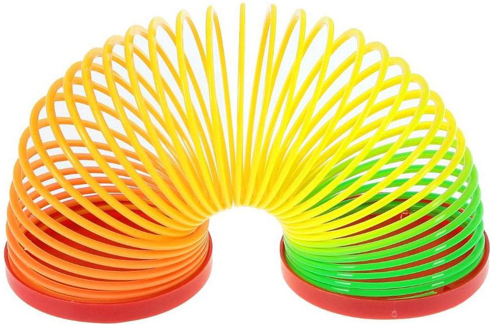 Sima-land Антистрессовая игрушка Спираль-радуга Улыбайся