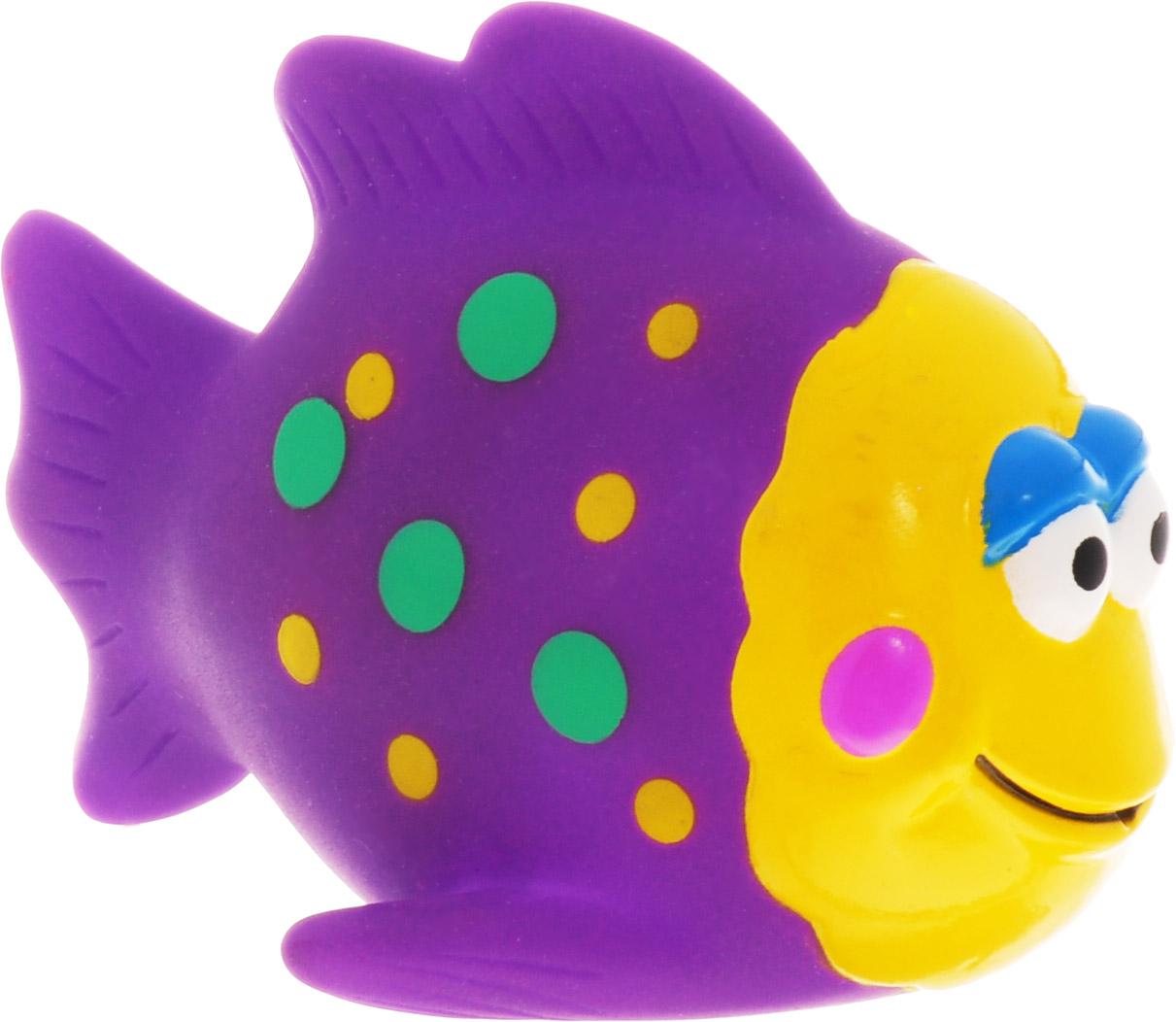 Затейники Игрушка для ванной Водный мир Рыбка цвет фиолетовый