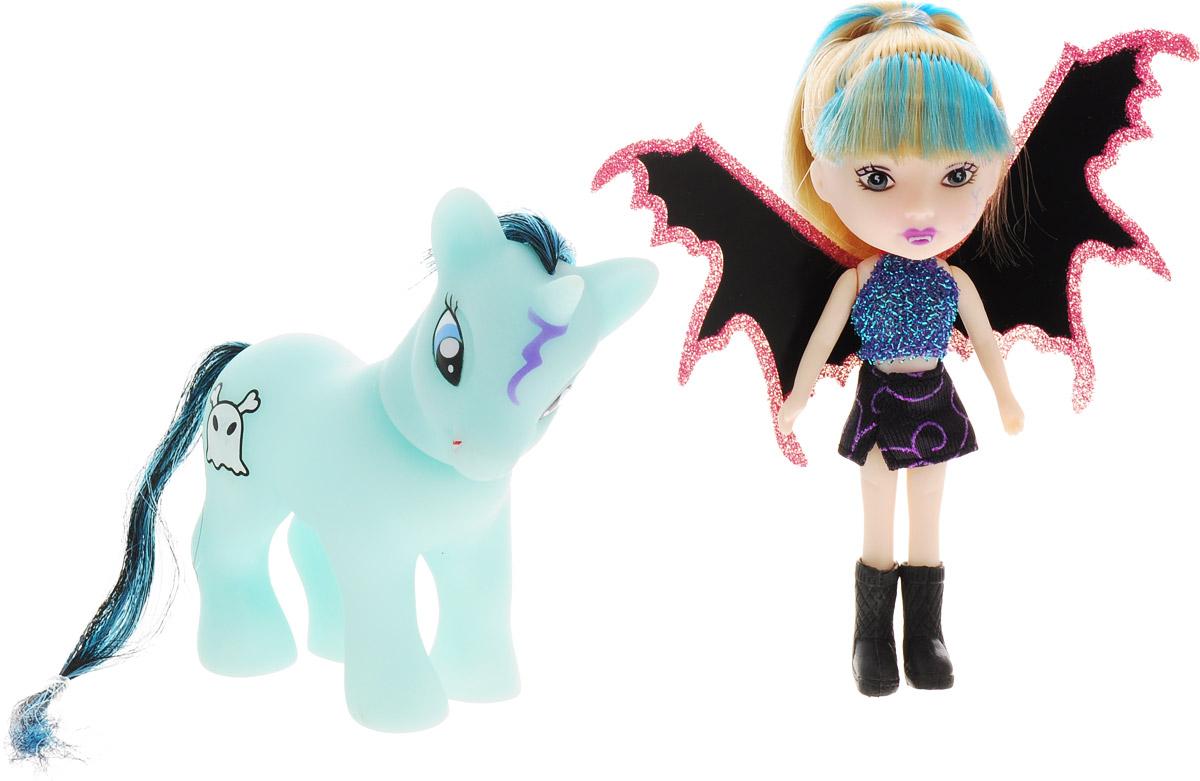 Veld-Co Игровой набор с мини-куклой Pony цвет черный розовый