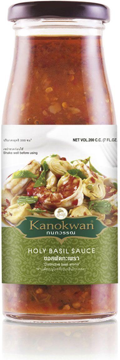 Используется для приготовления блюд тайской кухни. Этот остро-соленый соус с ароматом священного тайского базилика идеально подходит для обжарки мяса, овощей, морепродуктов. Для настоящих остроедов и любителей тайской кухни.