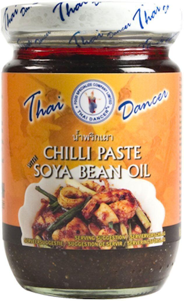 Thai Dancer Паста чили с сушеными креветками, 227 гKW0004032Незаменимая в тайской кухне Паста Чили с сушеными креветками и соевым маслом для приготовления огромного количества вкуснейших аутентичных тайских блюд.